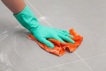 How to Clean Porcelain Tile Floors (4 Simple Steps)