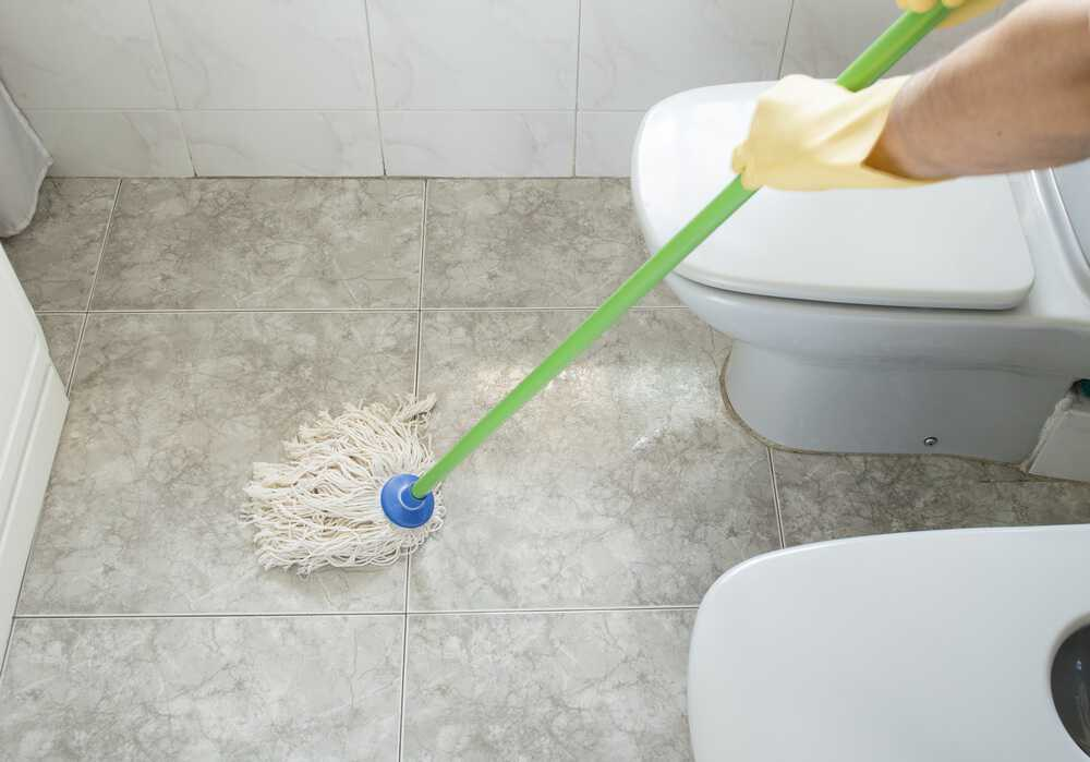 How to Clean Bathroom Floors (Easiest Step by Step Guide)