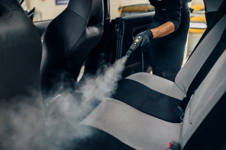 How to Steam Clean Car Seats for Germ-Free Car Rides